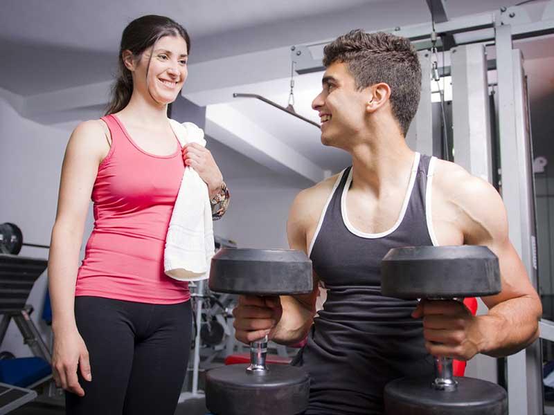 Tập gym giảm cân trong 1 tháng 2
